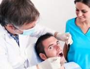 man and dentists